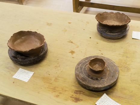 陶芸のカレー皿